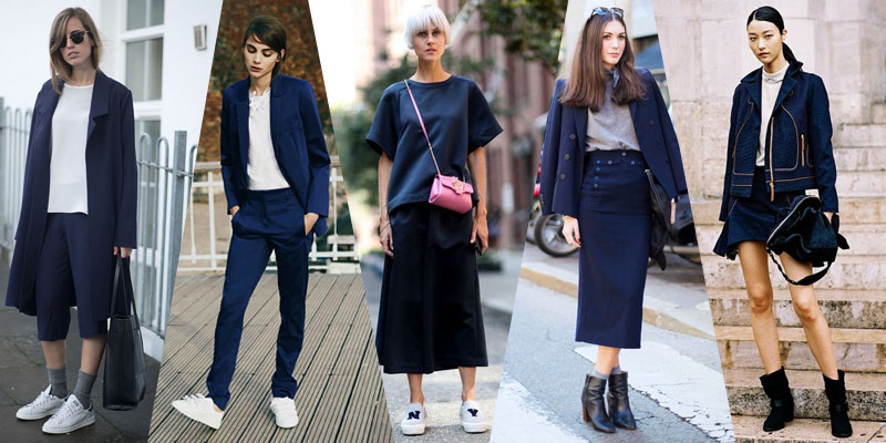 navy street style trends 2015 BlogForShops
