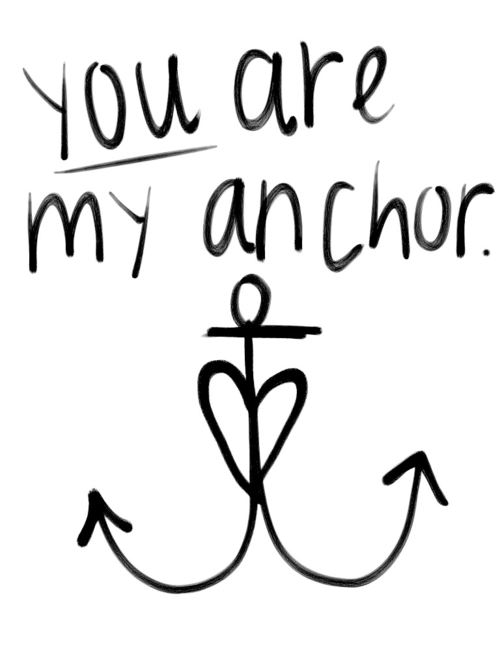 Anchor inspiration quote