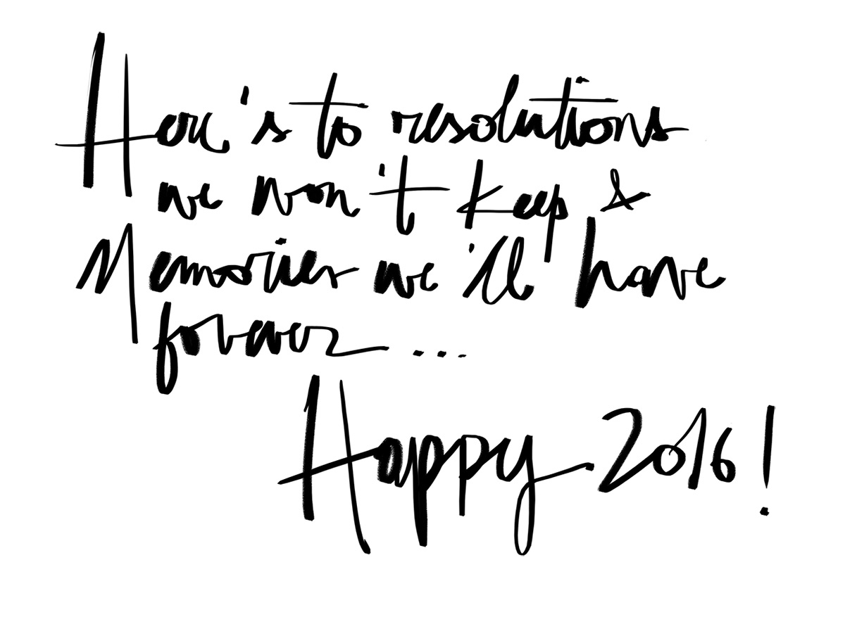 happy 2016 by garance dore